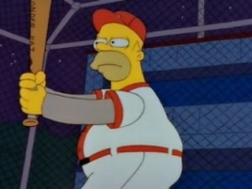 The Simpsons 03x17 : Homer at the Bat- Seriesaddict
